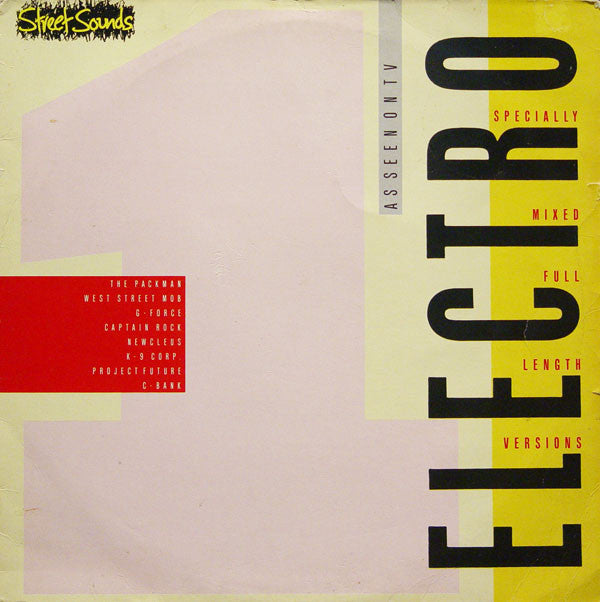 "Various Artists - Street Sounds Electro 1 12"" ELCST1 Street Sounds"