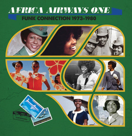 Various ‎– Africa Airways One (Funk Connection 1973-1980) - Africa Seven ‎– ASVN001