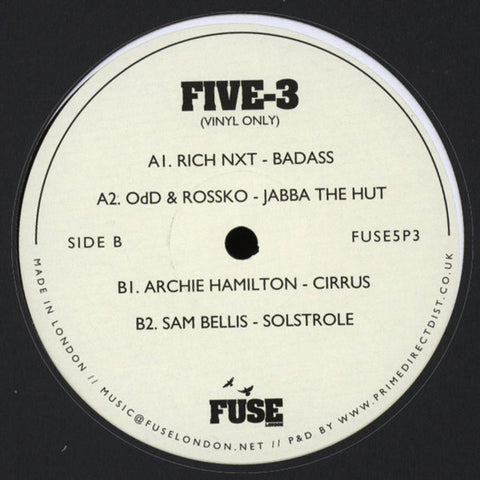 Various ‎– Five-3 - Fuse London ‎– FUSE5P3