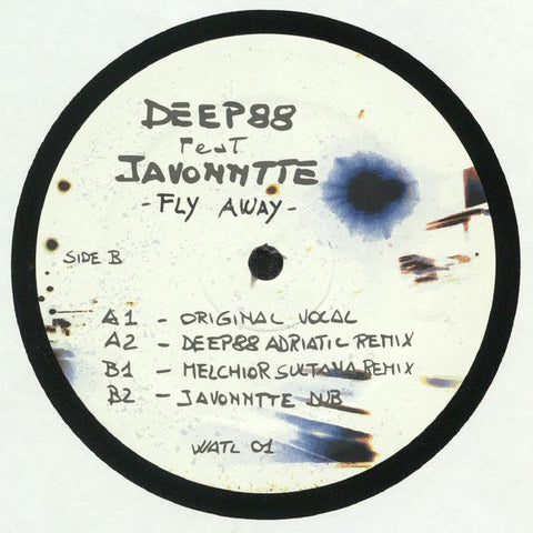 Deep88 Feat Javonntte ‎– Fly Away - What About This Love ‎– WATL 01