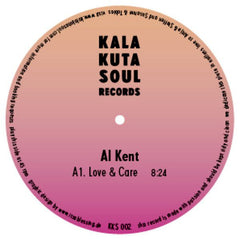"Al Kent ‎– Love & Care 12"" Kalakuta Soul Records ‎– KKS 002"