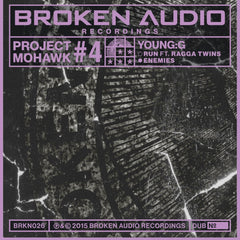 "Young:G ‎– Project Mohawk #4 12"" Broken Audio Recordings ‎– BRKN 026"