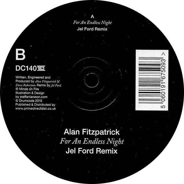 Alan Fitzpatrick ‎– For An Endless Night - Drumcode ‎– DC140