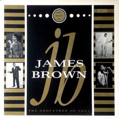 "James Brown - The Best Of James Brown 12"" K-Tel NE 1376"