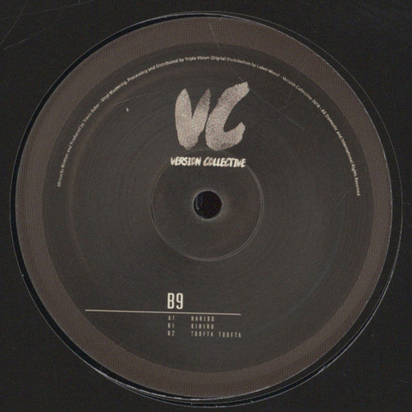 "B9 - VCV001 12"" Version Collective ‎– VCV001"