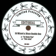 "Various ‎– Untitled 12"" Editorial ‎– ED 001"