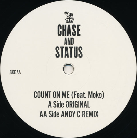 Chase And Status - Count On Me - RAM Records ‎– RAMM147