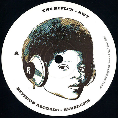 "The Reflex ‎– RWY / ANL 12"" Revision Records - REVREC003"