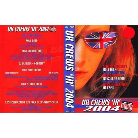UK CREWS IN 2004 - Various Mixed CDr (6xCD-R PACK)