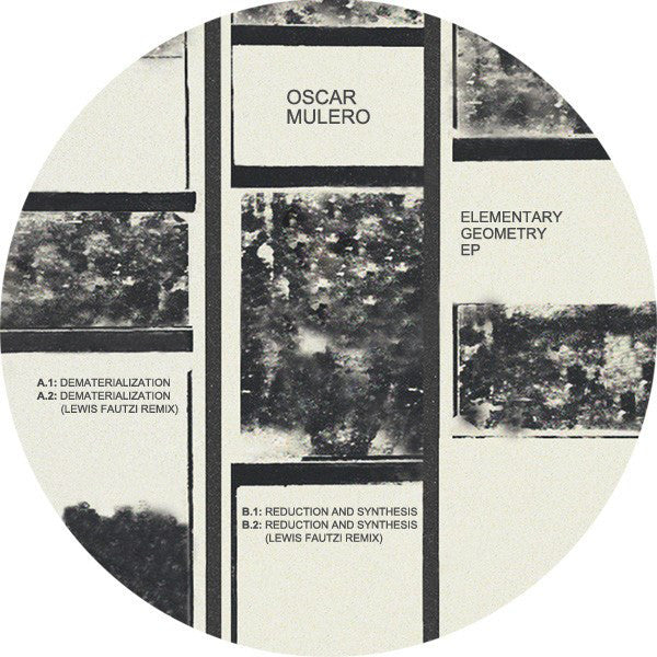 "Oscar Mulero ‎– Elementary Geometry 12"" Faut Section ‎– FAUT019"