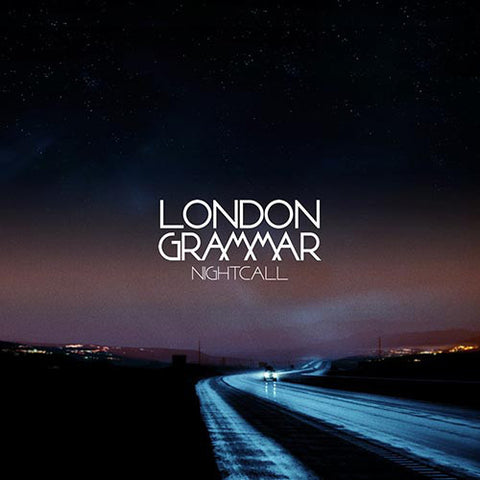 "London Grammar ‎– Nightcall 12"" Metal & Dust Recordings Ltd ‎– MAD005T"