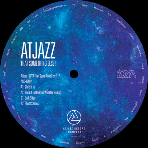 "Atjazz ‎– That Something Else! EP 12"" Atjazz Record Company ‎– ARC-100-V"