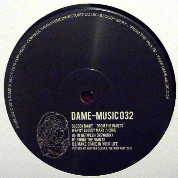 "Bloody Mary - From The Vaults 12"" Dame-Music ‎– DAME-032"
