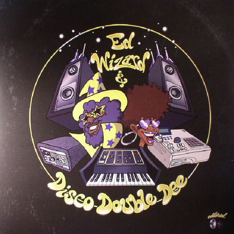 Ed Wizard & Disco Double Dee ‎– Slo Mo Disco - Editorial ‎– ED LP-01
