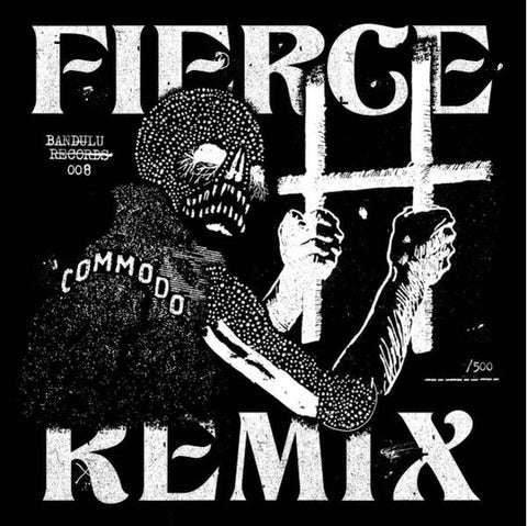 "Kahn / Commodo ‎– Fierce / S Is For Snakes 12"" Bandulu Records ‎– BANDULU008 Limited Edition"