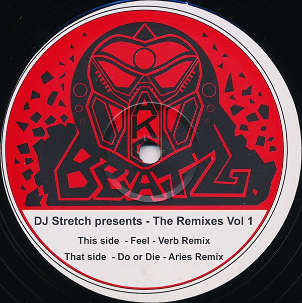 DJ Stretch - The Remixes Vol 1 Ako Beatz AKOB 001