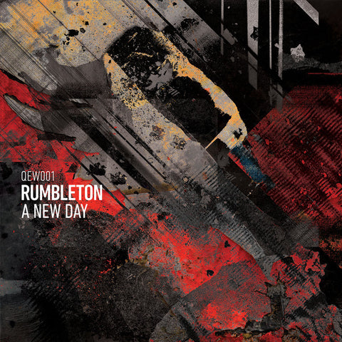"Rumbleton ‎– A New Day 12"" North Of 7 Sounds ‎– QEW001"