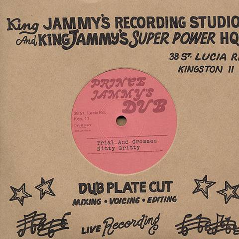 Pad Anthony / Nitty Gritty ‎– Try A Time / Trial And Crosses - Prince Jammy's Dub