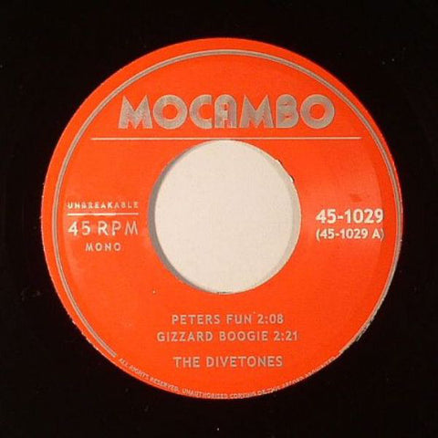 The Divetones ‎– Peters Fun - Mocambo ‎– 45-1029