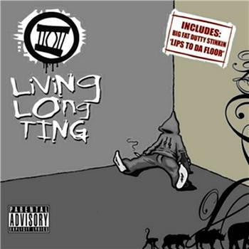 LDZ ‎– Living Long Ting (Mixtape) (CD) Dented, Potent Funk Recordings ‎– DNT023