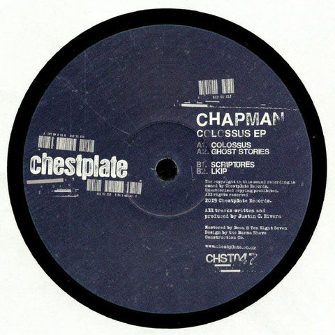 Chapman ‎– Colossus EP - Chestplate ‎– CHST047