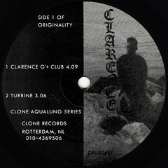 "Clarence - Hyperspace Sound Lab 12"" Clone ‎– C#33EF"