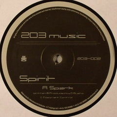 "Spirit - Spark / Close Your Eyes 12"" 203 Music 203-002"