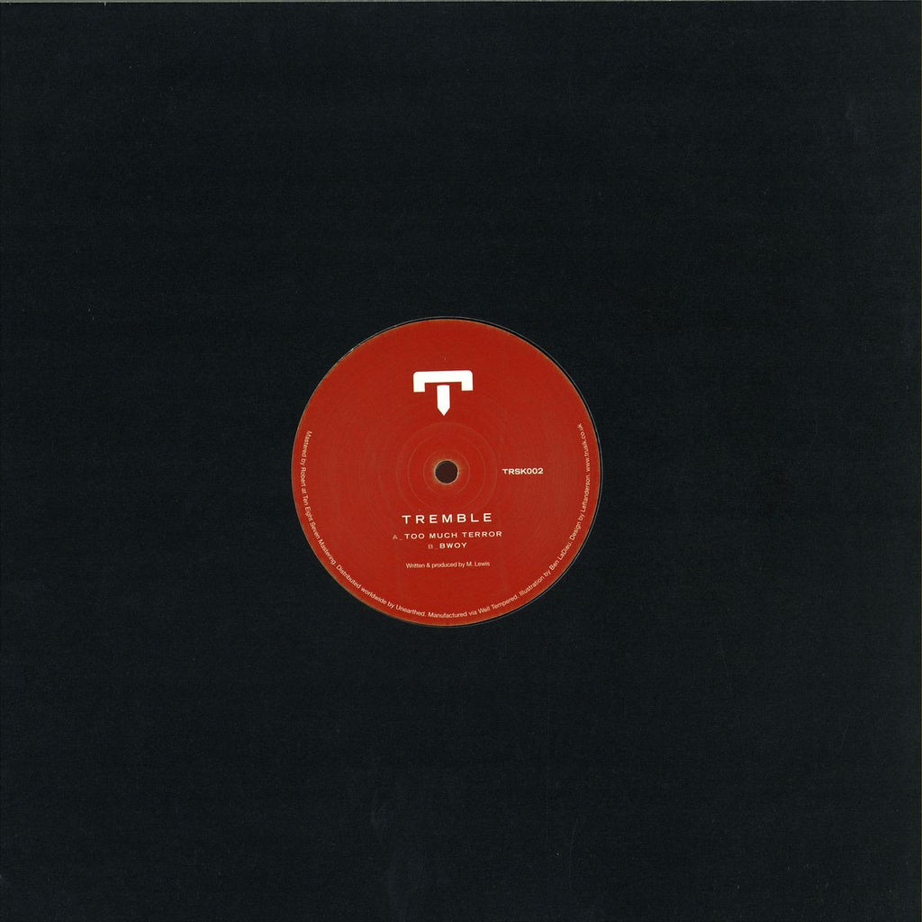 "Tremble - Too Much Terror / Bwoy 12"" Trusik Recordings ‎– TRSK002"
