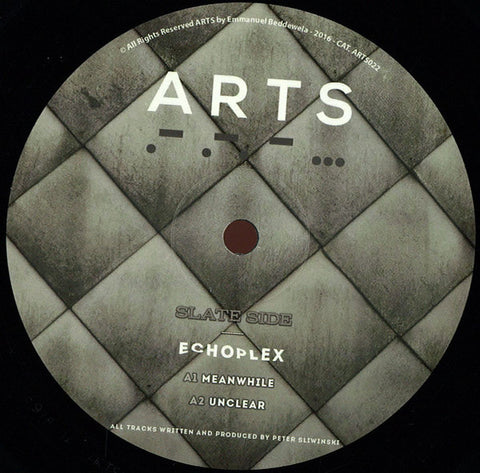 "Echoplex ‎– The Detroit Walkout 12"" Arts ‎– ARTS022"