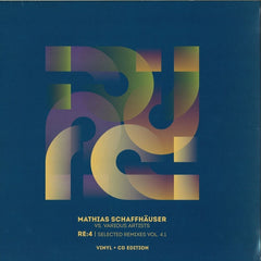 "Mathias Schaffhäuser Vs. Various - RE:4 Selected Remixes Vol. 4.1 12"" Blu Fin BFLP04.1"