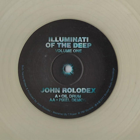 "John Rolodex ‎– Illuminati Of The Deep - Volume One 12"" Broken Audio Recordings ‎– BRKN034"