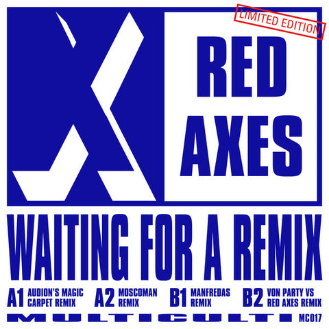 "Red Axes ‎– Waiting For A Remix 12"" Multi Culti ‎– MC017"