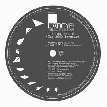 "L'Aroye - The Sci-Fi Sessions 12"" Faces Records faces1201"