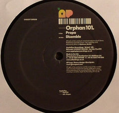"Orphan101 - Propa / Disemble 12"" PIPS014 Apple Pips"