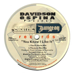 "Davidson Ospina ‎– You Know I Like It 12"" Digital Dungeon Records ‎– UGDD 1205"