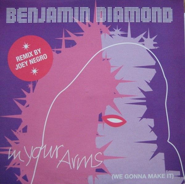 "Benjamin Diamond - In Your Arms (We Gonna Make It) 12"" Epic, Diamond Traxx XPR3415"