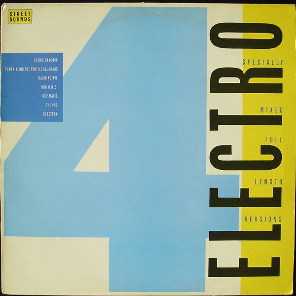 "Various - Street Sounds Electro 4 12"" ELCST4 Street Sounds"