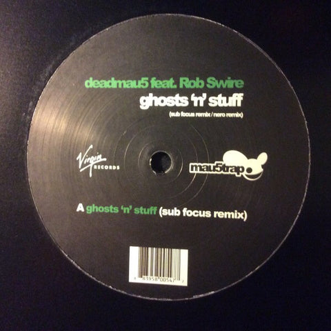 deadmau5, Rob Swire ‎– Ghosts 'N' Stuff (Sub Focus / Nero Remixes) - Mau5trap Recordings ‎– MAU5020TX