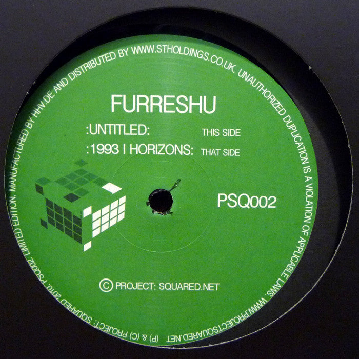 "Furesshu - Untitled / 1993 / Horizons 12"" Project Squared PSQ002"