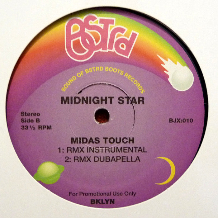 "Midnight Star - Midas Touch (DJ Platurn Remix) 12"" BSTRD Boots BJX:010"