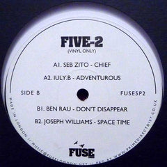 Ben Rau, Iuly.B, Seb Zito, Joseph Williams ‎– Five-2 - Fuse London ‎– FUSE 5P2