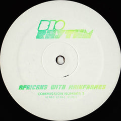 "Africans With Mainframes ‎– Commission Number 3 12"" Bio Rhythm ‎– RHYTHM015"