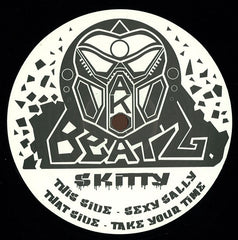 Skitty ‎– Sexy Sally / Take Your Time - Ako Beatz ‎– AKO006 (Purple Glitter Transparent)