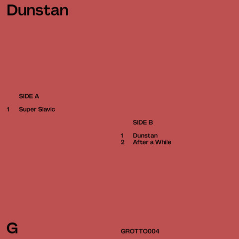 "Dunstan ‎– Dunstan 12"" Grotto Editions ‎– GROTTO004, We Jazz ‎– WJEP04"