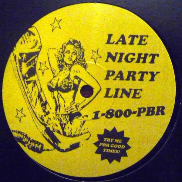 "PBR StreetGang ‎– Late Night Party Line 12"" Streeetgang Jams ‎– SJ1"