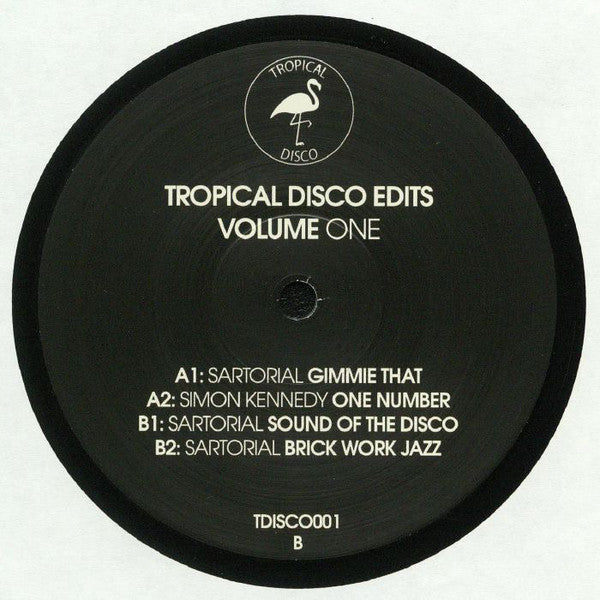 Various ‎– Tropical Disco Edits Volume One - Tropical Disco ‎– TDISCO001
