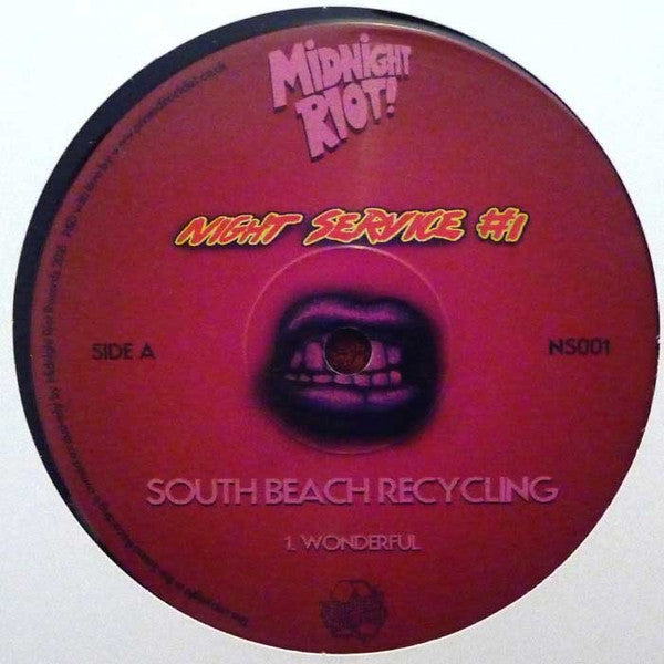 South Beach Recycling ‎– Night Service 1 - Night Service ‎– NS001