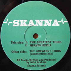 Skanna ‎– The Greatest Thing - Skanna ‎– SKANNA 07