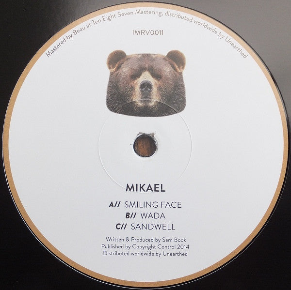 "Mikael - Smiling Face 12"" Innamind Recordings IMRV011"
