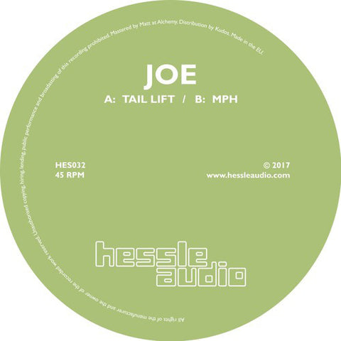 "Joe – Tail Lift / MPH 12"" Hessle Audio ‎– HES032"